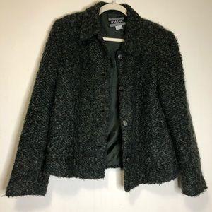 Nouveaux vintage blazer cardigan size 12 button